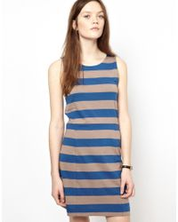 Chinti And Parker Chinti Parker Wide Stripe Jersey Shift Dress - Lyst