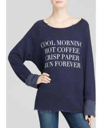 Wildfox Pullover - Run Forever - Lyst