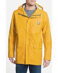 Helly Hansen 'Lerwick' Waterproof & Windproof Hooded Jacket - Lyst