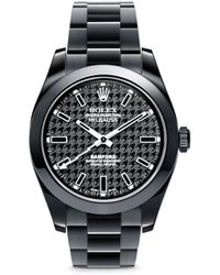 Bamford Watch Department - Rolex Milgauss Oyster Perpetual Watch - Houndstooth - Lyst