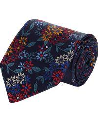 Duchamp Floral Garden Silk Jacquard Neck Tie - Lyst