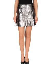 Marc By Marc Jacobs Mini Skirt - Lyst