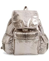 LeSportsac - 'voyager' Backpack - Metallic - Lyst
