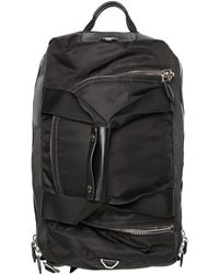 Givenchy Nylon Duffle Bag Backpack - Black