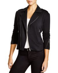 Soft Joie Birte Baby Fleece Moto Jacket - Black