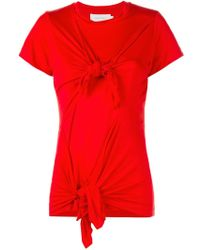Marques'Almeida | Knotted T-shirt | Lyst