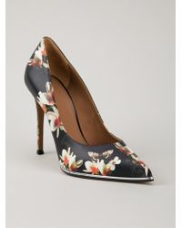 Givenchy Floral Print Pumps - Lyst