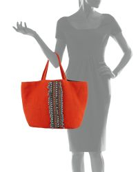 OndadeMar - Hand-embroidered Tote Bag - Lyst