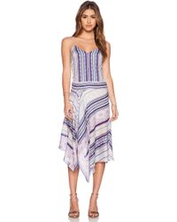 Twelfth Street Cynthia Vincent Assymentrical Dress - Lyst