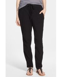 James Perse Twill Utility Pants - Lyst