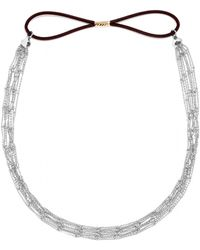 BaubleBar - Delicate Chain Hair Band - Lyst