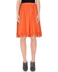 BGN | Knee Length Skirt | Lyst