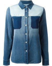 Stella McCartney Denim Shirt - Lyst