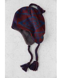 Pendleton X Uo Fleece Lined Knit Trapper - Lyst