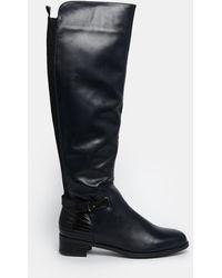 Aldo Nonela Flat Riding Boots - Lyst