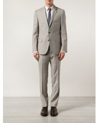 Boss by Hugo Boss Two Piece Suit beige - Lyst