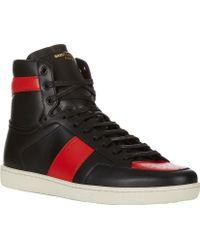 Saint Laurent Sl10h Court Classic Sneakers - Lyst