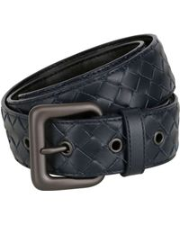 Bottega Veneta 35mm Woven Leather Belt - Lyst