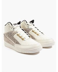 Nike Men'S White Air Python Sneakers - Lyst