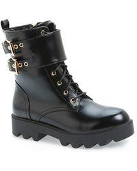 N.y.l.a. - 'starkk' Combat Boot - Lyst