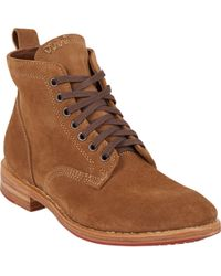 Visvim Hilts Lace-Up Ankle Boots - Lyst