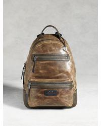 John Varvatos   Brooklyn Zip Backpack   Lyst