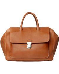 ccf6de788f Giorgio Armani - Natural Leather Bag - Lyst
