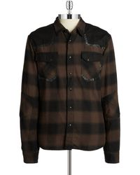 Rogue State - Flannel Shirt - Lyst