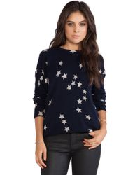 Equipment Sloan Falling Star Crew Neck - Lyst