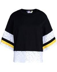 MSGM Short Sleeve T-Shirt - Lyst