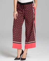 Adrianna Papell - Print Pyjama Trousers - Lyst