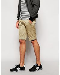 Diesel Chino Shorts P-Aily-Short - Lyst