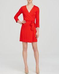 Diane von Furstenberg Wrap Dress - New Julian Two Mini - Lyst