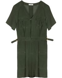 Equipment Green Oliver Dress - Lyst