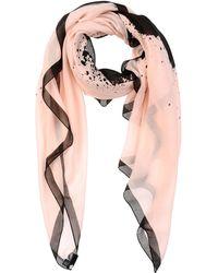 Karl Lagerfeld Stole pink - Lyst