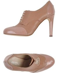 Pierre Darre' Lace-Up Shoes beige - Lyst
