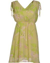 Lavand Short Dress - Green