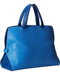 Just Cavalli Python Printed Nabuk Top Handle Bag - Lyst