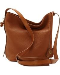 Vince Camuto Brown Tate Crossbody - Lyst