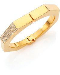Vita Fede Octagon Crystal Bangle Bracelet - Lyst