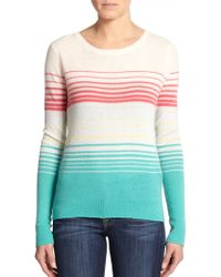 Joie Orfilia Striped Cashmere Sweater - Lyst