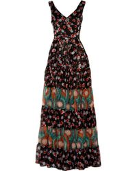 Duro Olowu Printed Silk Chiffon Gown - Lyst