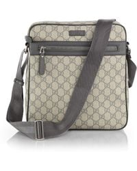 Gucci Gg Supreme Canvas Shoulder Bag - Lyst
