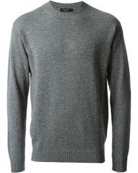 Ermenegildo Zegna Classic Crew Neck Sweater - Lyst