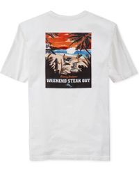 Tommy Bahama Weekend Steak Out T-Shirt - Lyst