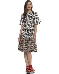 Suno A-line Ruffled Hem Dress - Lyst