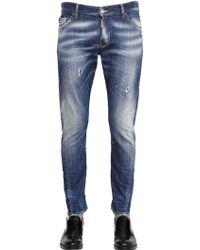 DSquared² 16.5Cm Michael Buble Taxi Denim Jeans - Lyst