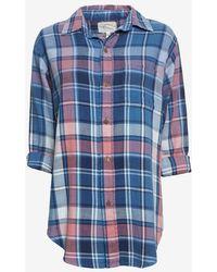 Current/Elliott The Prep School Shirt - Lyst