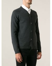 Surface To Air Ribbed Shoulders Cardigan - Lyst