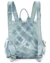 Simone Camille The Backpack - Sky Tie Dye - Blue
